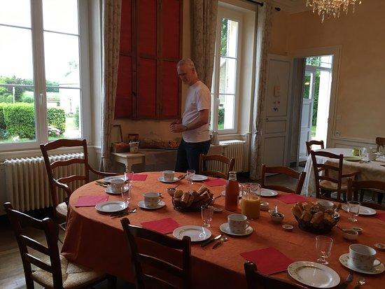 Mosles, فرنسا: Geweldig ontbijt