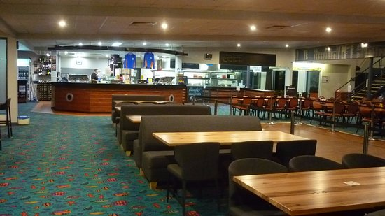 Gerroa, Australia: A view of the Club House interior decoration