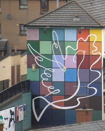 A Symbol Of Hope In The Bogside Picture Of The Bogside Artists