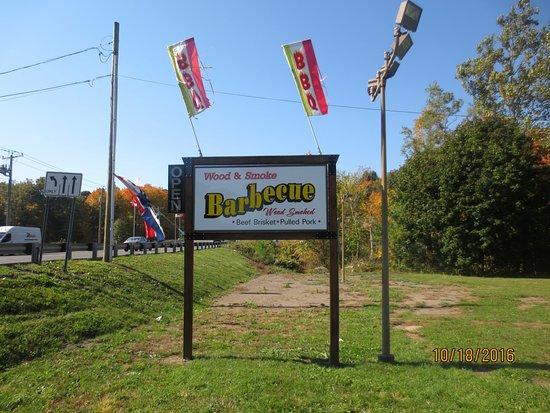 Middlefield, CT: roadside sign