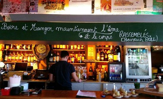 Reze, Francia: Le bar de La Civelle
