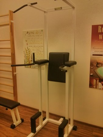 Boutique Hotel Seven Days: Fitness room