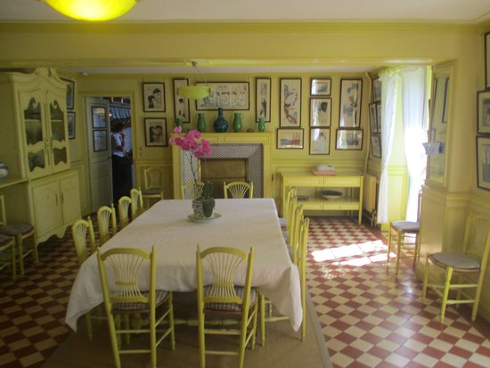 Claude Monet's House and Gardens: The Dining Room
