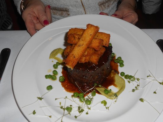 Leixlip, Irlande : slow cooked Irish lamb