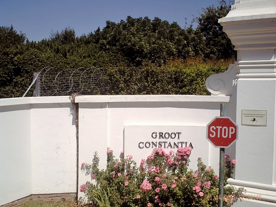‪‪Constantia‬, جنوب أفريقيا: Entrance to Groot Constantia.‬