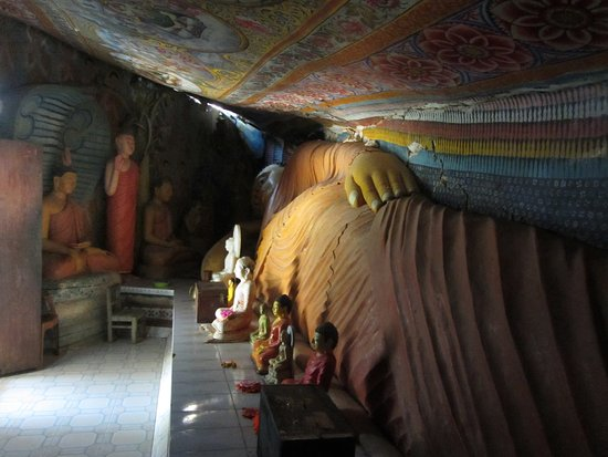 Central Province, Sri Lanka: the cave temple