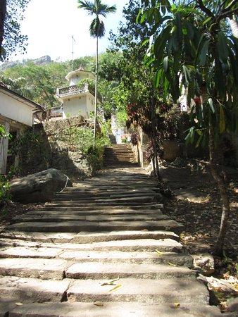 Central Province, Sri Lanka: la scalinata