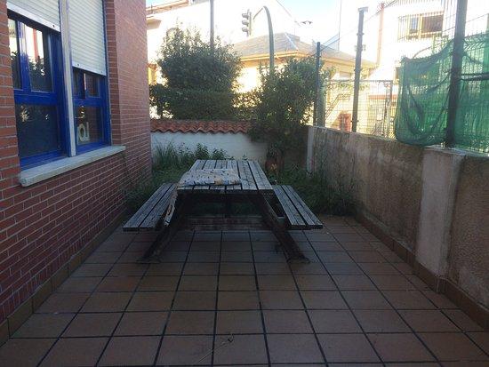 Liencres, España: Vista del patio