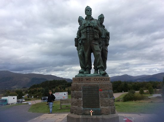 Spean Bridge, UK: where heroes walked