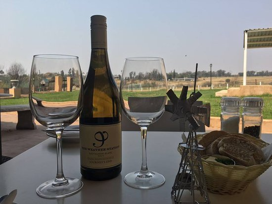 Lanseria, Sudáfrica: Journeys End range of wines