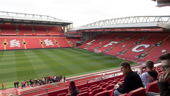 Image result for anfield stadium is a library