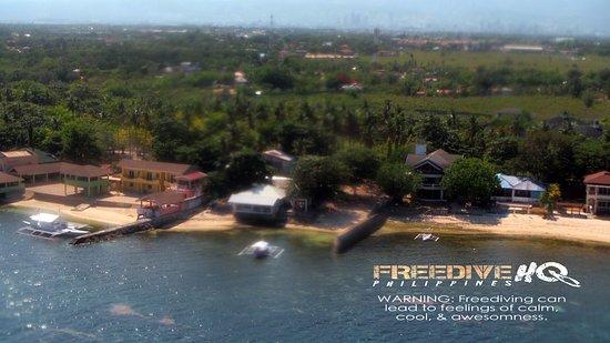 Lapu Lapu, Filippinerna: Freedive HQ from above
