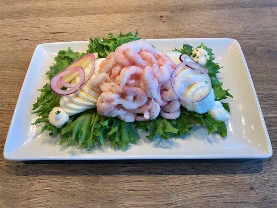 Vantaa, Finlandia: shrimp sandwich