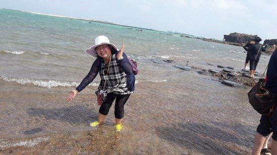 Penghu County, Taiwán: 這是在海中央