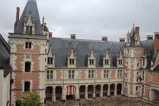 Blois, France : Cour intérieure