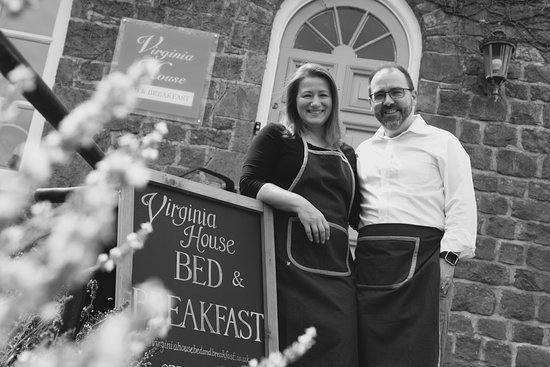 Oxfordshire, UK: Owners Mike & Barbara Horth