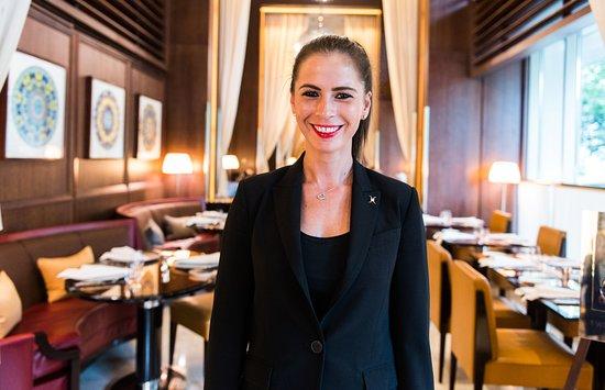 Sonia Bel Hadge Restaurant Manager At Cut At 45 Park Lane