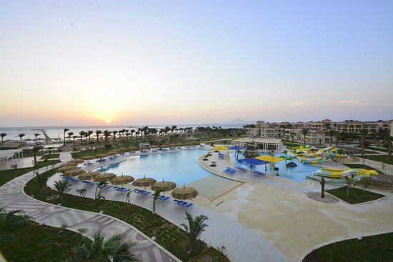 Royal Albatros Moderna Sharm el-Sheikh : Pool & Beach area