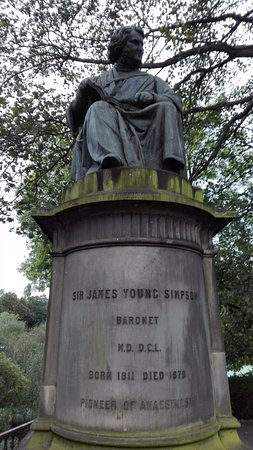 Sir James Young Simpson Monument