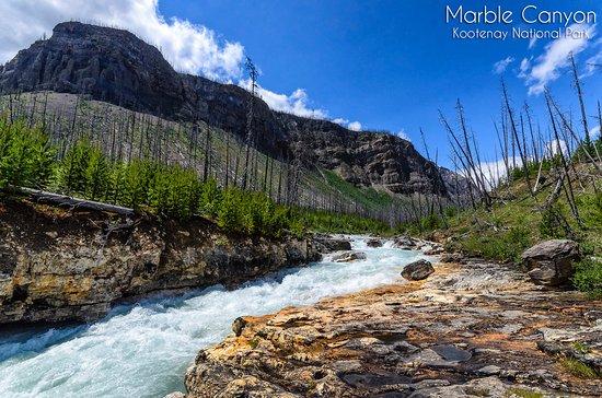 Kootenay National Park, Canada: Marble Canyon