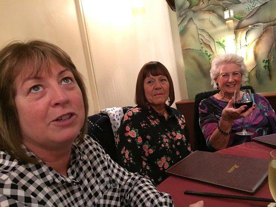 Slow Boat: Three happy ladies