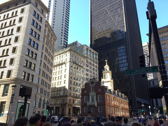 Site of the Boston Massacre Picture of Freedom Trail Tours Boston