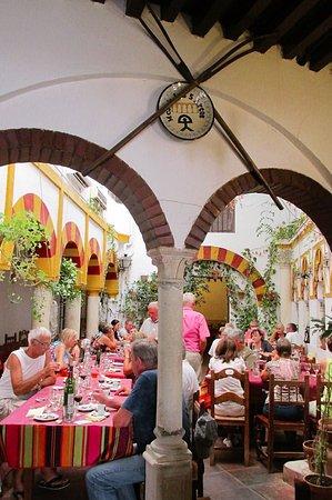 los Cinco Arcos: salle du restaurant