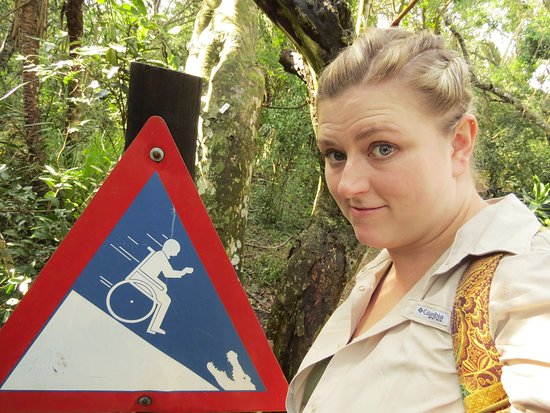 St Lucia, Zuid-Afrika: My favorite sign of all time.
