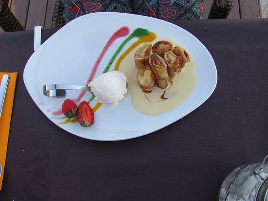 Palau-Saverdera, Spanien: десерт
