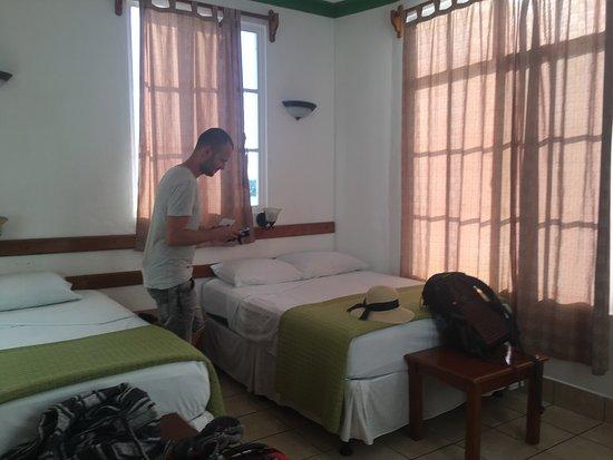 Hotel Casa Amelia: Prachtig uitzicht