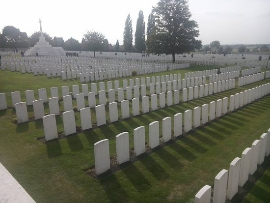 Zonnebeke, Bélgica: Tyne Cot cemetery