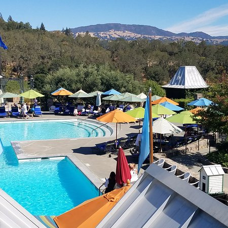 Geyserville, CA: Pool is a main attraction