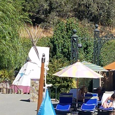 Geyserville, Californie : FFC's teepee!