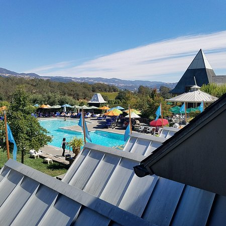 Geyserville, Californie : Another pool view