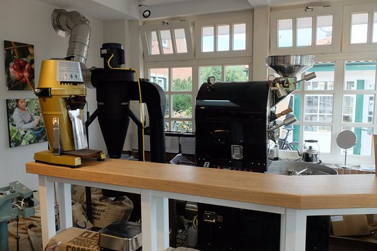 Spiekeroog, Almanya: Kaffeerösterei