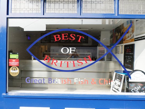 ‪‪Nottinghamshire‬, UK: Best Of British front of shop that welcomes customers‬