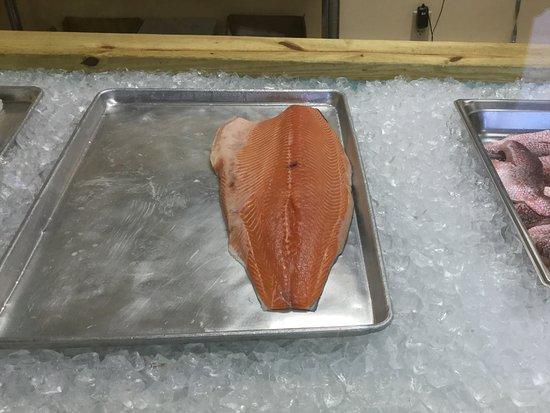 Jackson, TN: We took other piece of salmon