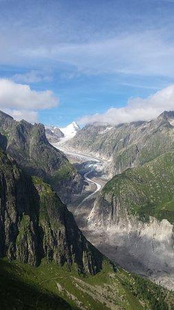 Aletsch Glacier: Fieschergletscher
