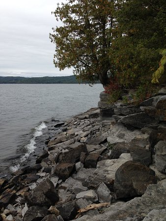 Vergennes, VT: Lake Champlain and the Adirondaks.