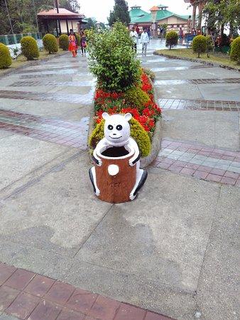 Namchi, India: The Cute Bin