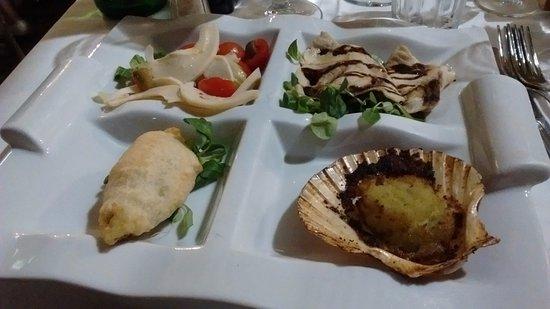 Antipasti sfiziosi picture of osteria di brera milan for Antipasti sfiziosi