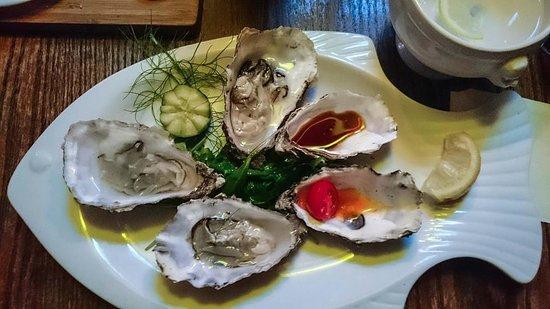 Tullycross, Irlanda: Fresh Oysters
