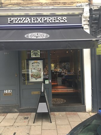 Pizza Express London 30 Highgate High St Menu Prices