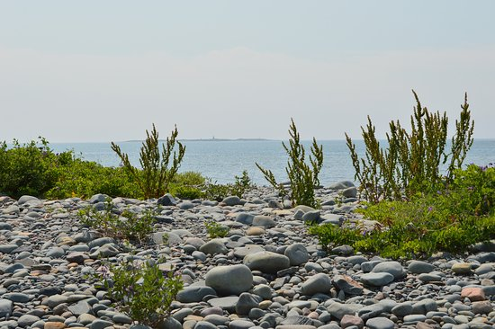 Eastern Passage, Canadá: Devil's Island in the distance