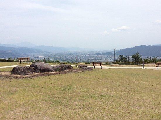 Chikuma, Japonya: 展望台より