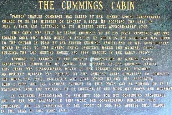 Sinking Spring Cemetery : info
