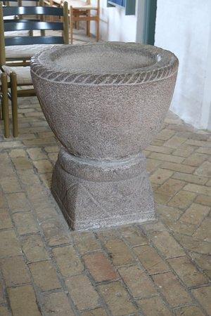 Jyderup, Denmark: Granite Font