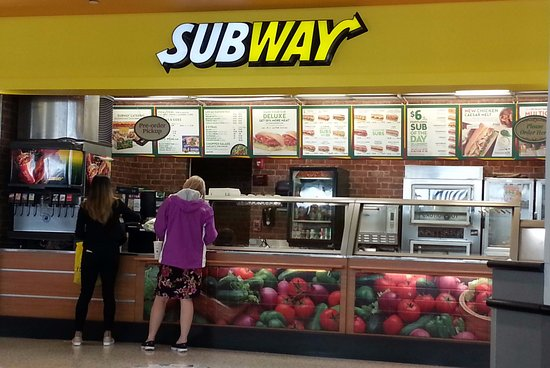 Norridge, IL: Counter of Subway