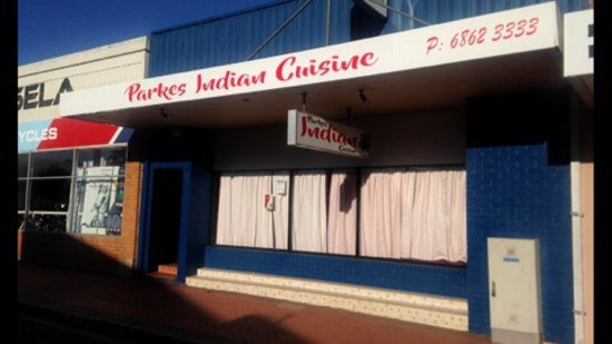 Parkes Indian cuisine was at Royal hotel 217 clarinda st Parkes. Now moved to 33 welcome st Park