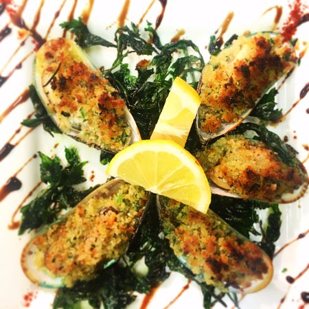 Standish, UK: Green Lip Mussels